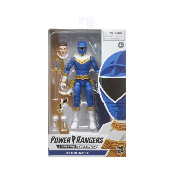 Power Rangers Lighting Collection Zeo Blue Ranger Action Figure