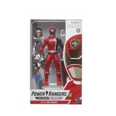 Power Rangers Lighting Collection S.P.D. Red Ranger Action Figure