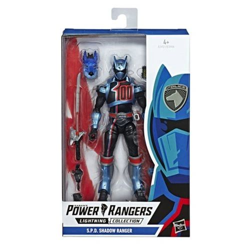 Power Rangers Lighting Collection S.P.D. Shadow Ranger Action Figure