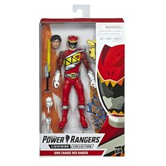 Power Rangers Lighting Collection Dino Charge Red Ranger Action Figure