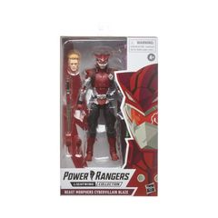Power Rangers Lighting Collection Beast Morphers Cybervillain Blaze Action Figure