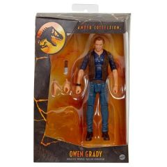 Jurassic World: Fallen Kingdom Amber Collection Owen Grady Action Figure