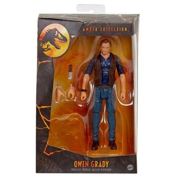 Jurassic World: Fallen Kingdom Amber Collection Owen Grady Action Figure