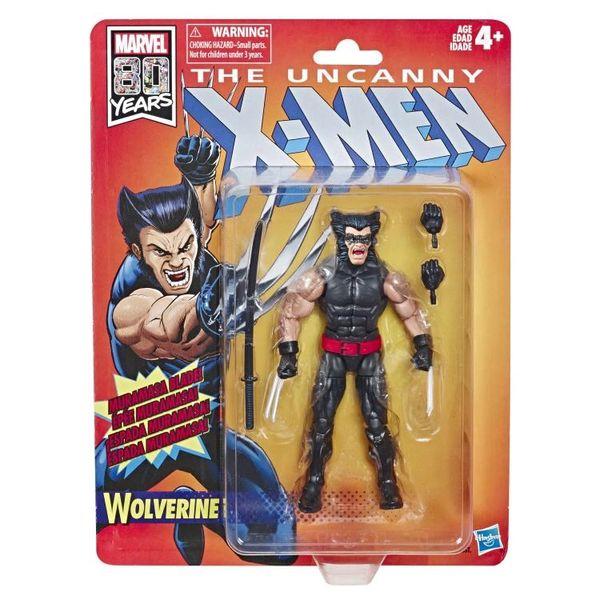 Marvel Legends The Uncanny X-Men Retro Collection Wolverine Action Figure