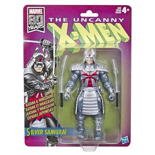 Marvel Legends The Uncanny X-Men Retro Collection Silver Samurai Action Figure