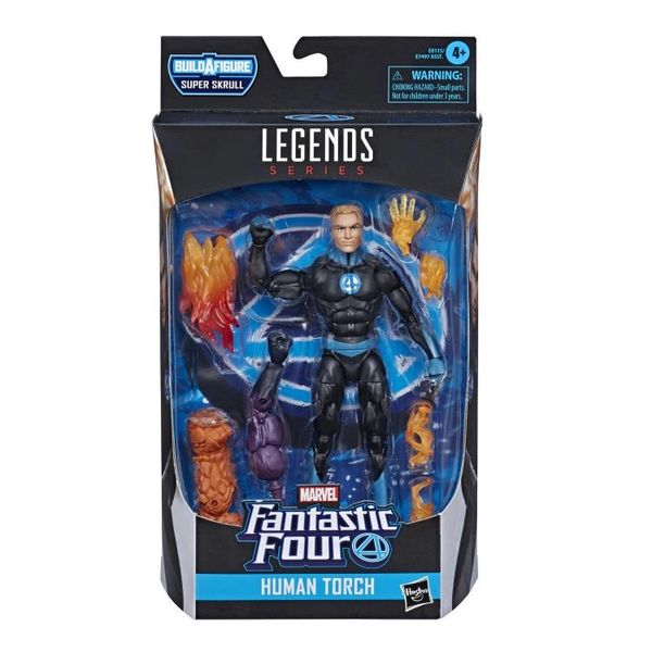Fantastic Four Marvel Legends Human Torch Action Figure