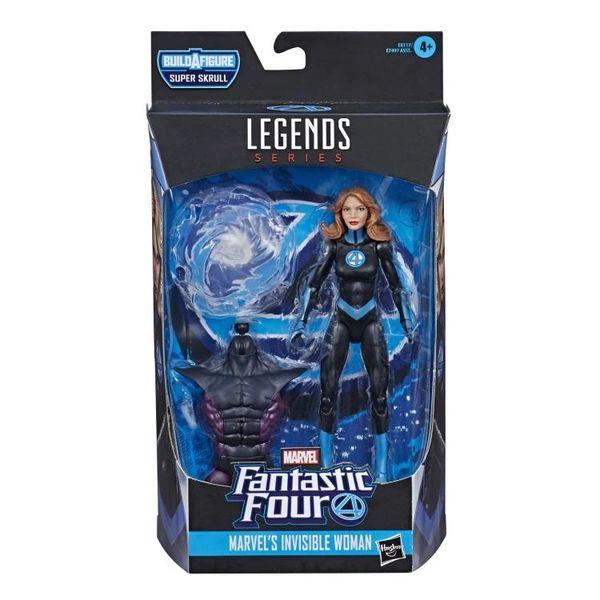 Fantastic Four Marvel Legends Invisible Woman Action Figure