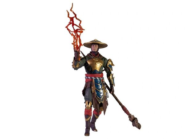 McFarlane Toys Mortal Kombat XI Raiden (Merciless Guardian) Action Figure