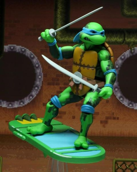 NECA Teenage Mutant Ninja Turtles In Time Leonardo 7 Action Figure