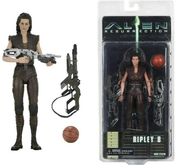 NECA Alien Resurrection Ripley 8 7 inch Action Figure