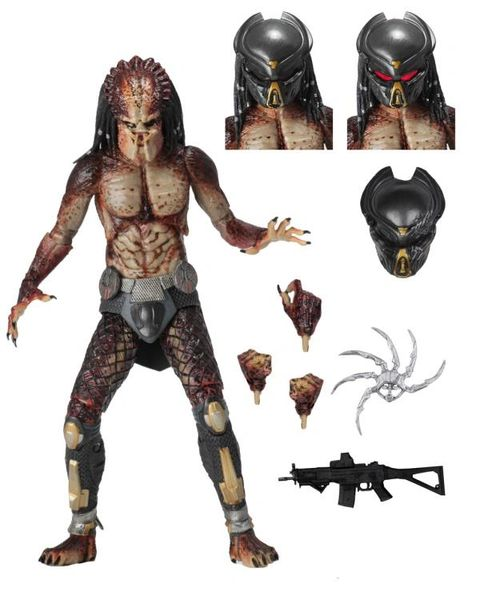 NECA The Predator Ultimate Lab Escape Fugitive Predator 8 inch Action Figure