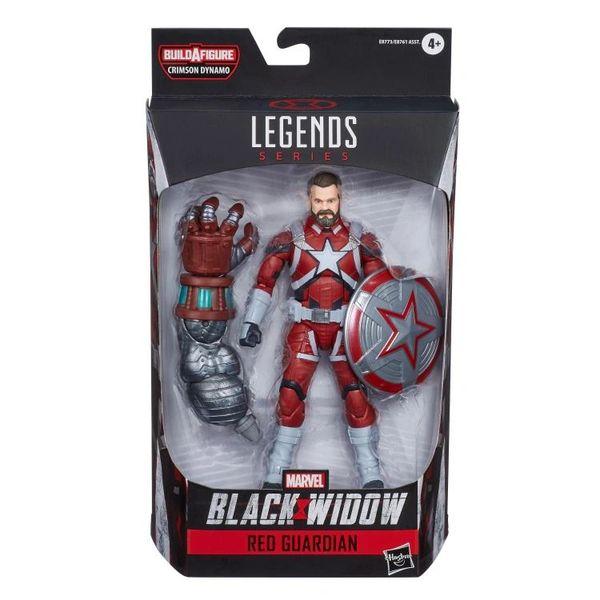 Black Widow Marvel Legends Red Guardian Action Figure