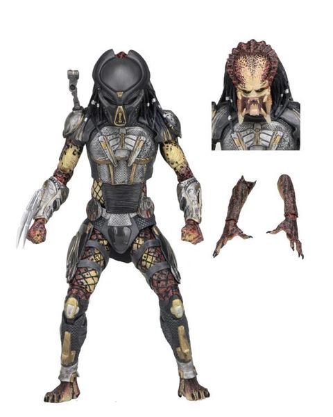 NECA The Predator Ultimate Fugitive Predator Action Figure