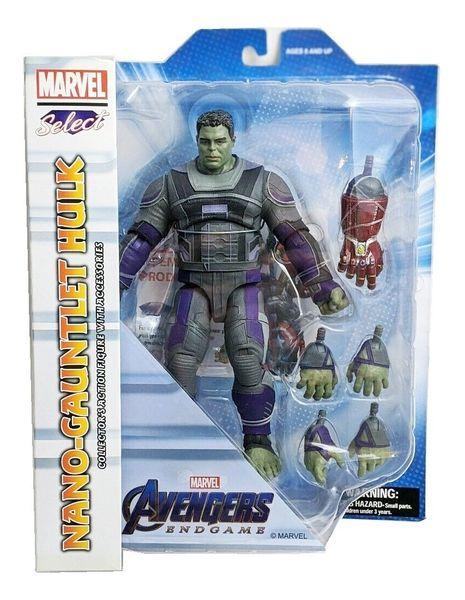 Marvel Select Avengers Endgame Nono-Gauntlet Hulk Action Figure