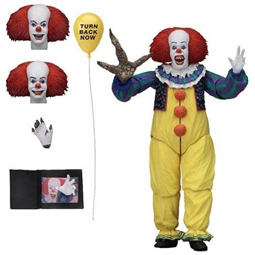 NECA IT The Movie (1990) Ultimate Pennywise Version II Action Figure