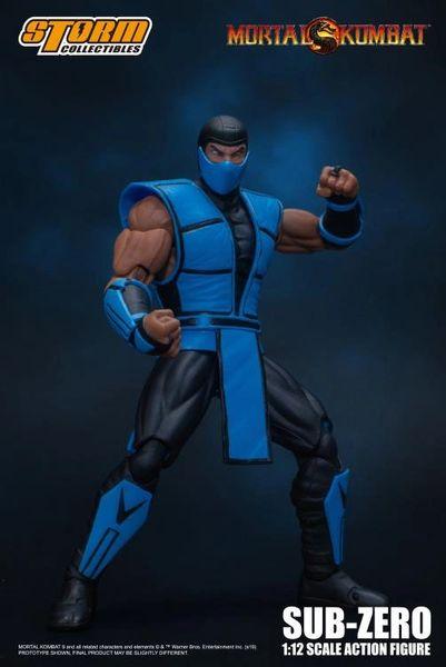 Storm Collectibles Mortal Kombat Sub-Zero 1/12 Scale Action Figure