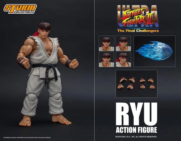 Storm Collectibles Street Fighter II Ryu 1/12 Scale Action Figure