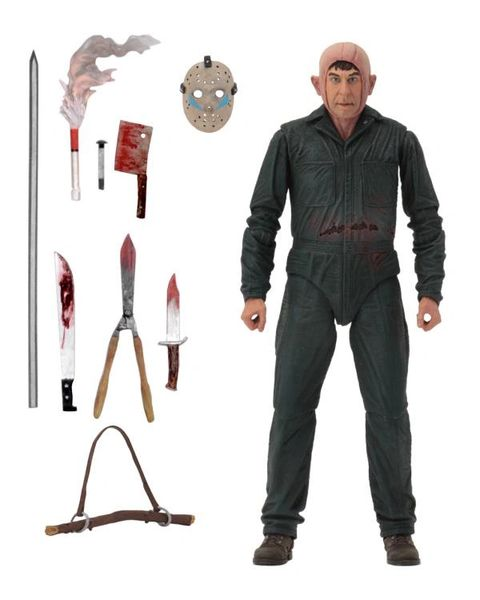 NECA Friday the 13th A New Beginning Ultimate Roy Burns Action Figure