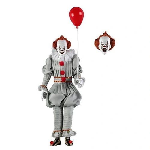 NECA IT The Movie (2017) Pennywise Clothed Version 8 inch Action Figure