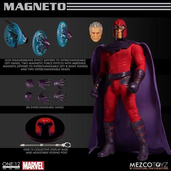 Mezco One:12 Collective Magneto Action Figure