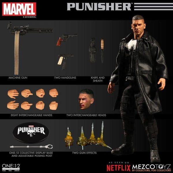 Mezco One:12 Collective Netflix Punisher Action Figure
