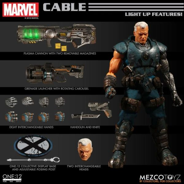 Mezco One:12 Collective Cable Action Figure