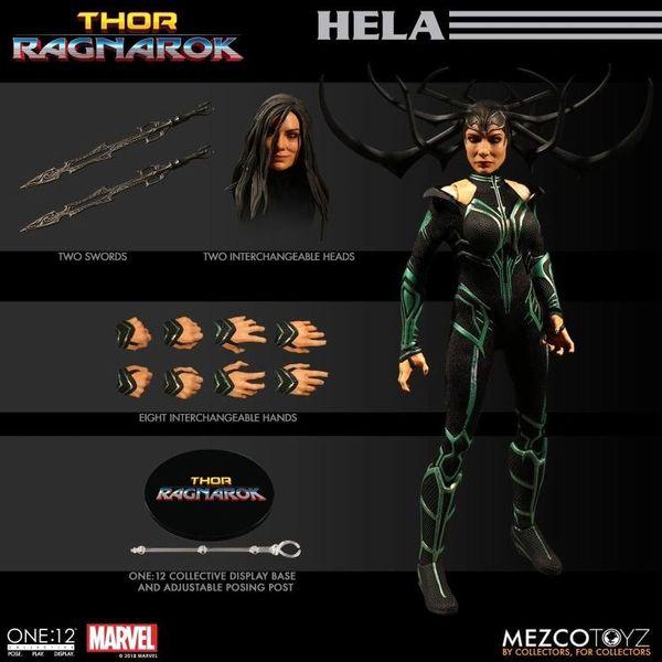 Mezco One:12 Collective Thor Ragnarok Hela Action Figure