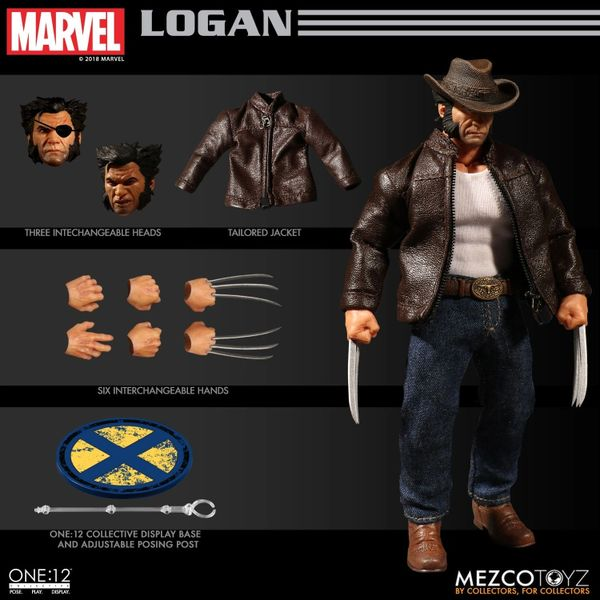 Mezco One:12 Collective Logan Action Figure