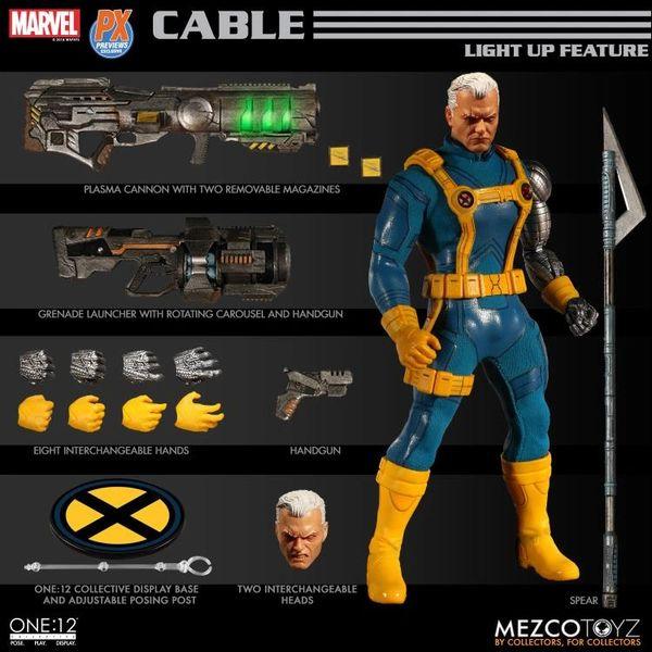 Mezco One:12 Collective Cable PX Previews Exclusive Action Figure