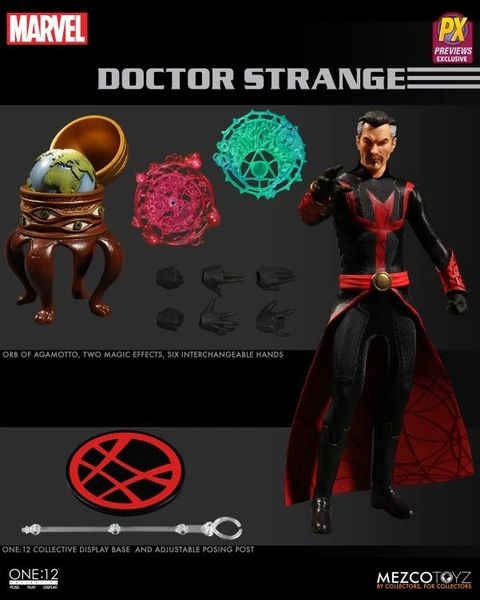 Mezco One:12 Collective Doctor Strange PX Previews Exclusive Action Figure