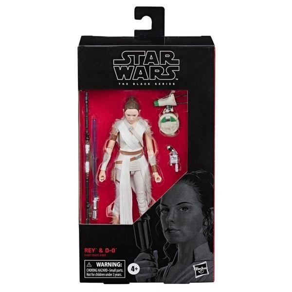 Star Wars Black Series Rey & D-0 Action Figure