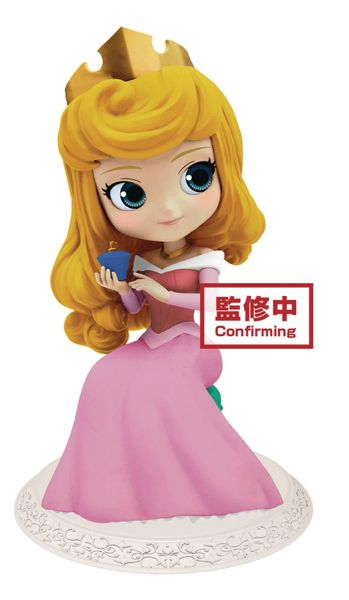 Disney Princess Q-Posket Sleeping Beauty Aurora Perfumagic Mini Figure