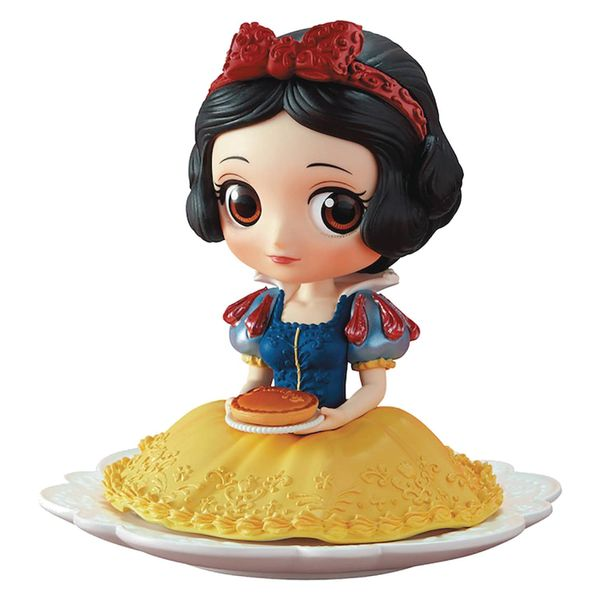 Disney Princess Q-Posket Snow White Sugirly Mini Figure (Pie Version)