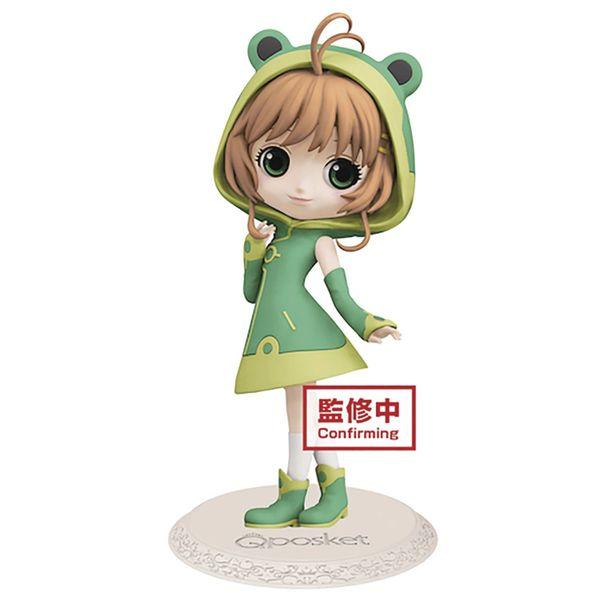 Cardcaptor Sakura Clear Card Sakura Q-Posket Frog Figure