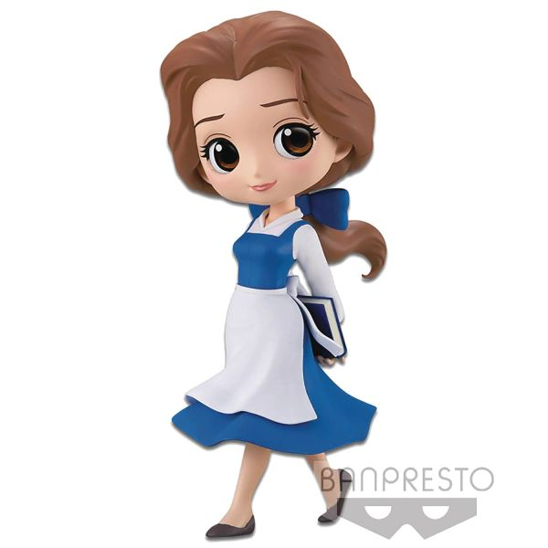 Disney Princess Q-Posket Belle Country Style Mini-Figure (Dark Blue Dress Version)