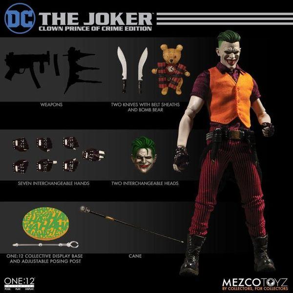 Mezco One:12 Collective DC Comics Universe The Joker Action Figure