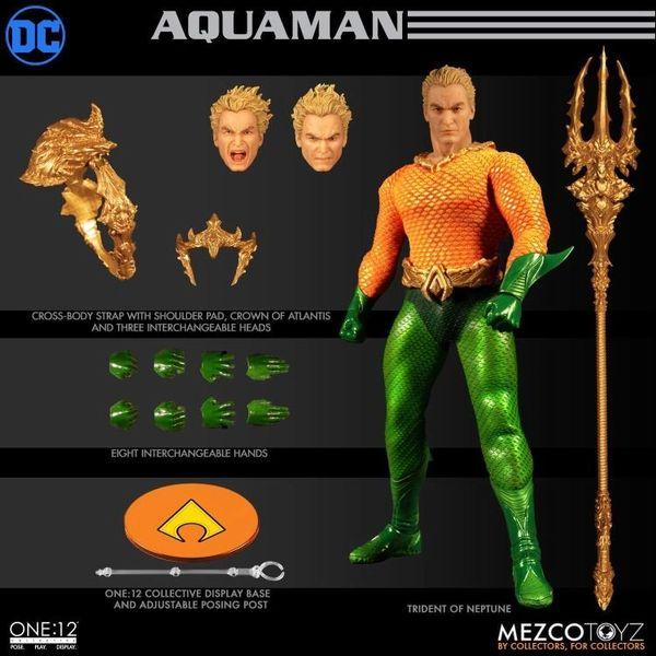 Mezco One:12 Collective DC Comics Universe Aquaman Action Figure