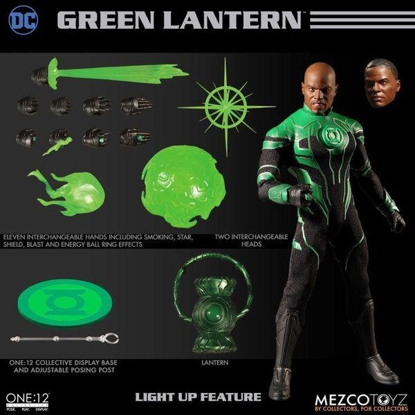 Mezco One:12 Collective DC Comics Universe Green Lantern John Stewart Action Figure