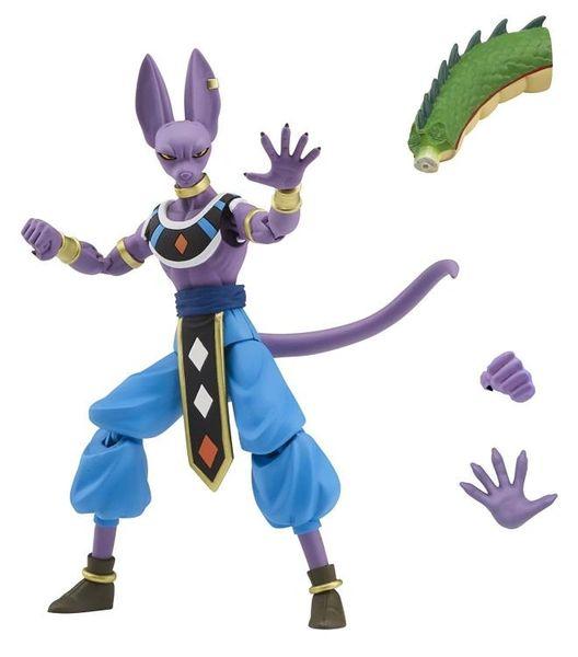 Dragon Ball Dragon Stars Wave 1 Beerus Action Figure Shenron Piece