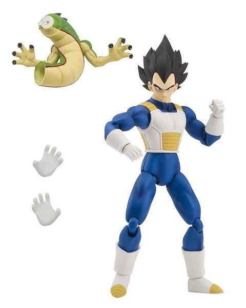 Dragon Ball Dragon Stars Wave 1 Vegeta Action Figure Shenron Piece