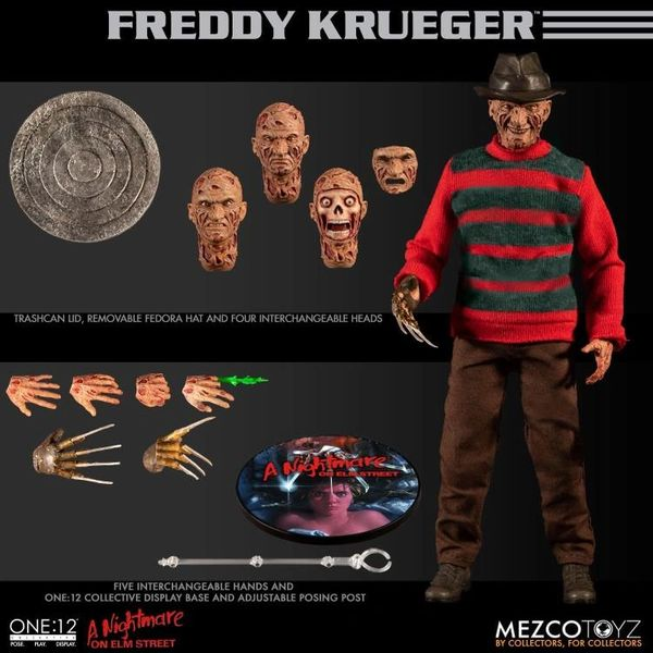 Mezco One:12 Collective Freddy Krueger A Nightmare on Elm Street Action Figure