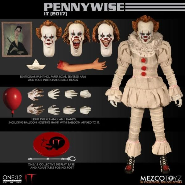 Mezco One:12 Collective Pennywise IT (2017) Action Figure