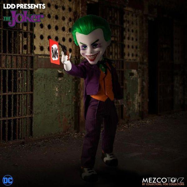Mezco Living Dead Dolls DC Comics Universe The Joker