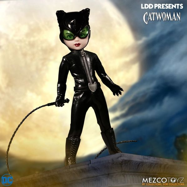 Mezco Living Dead Dolls DC Comics Universe Catwoman