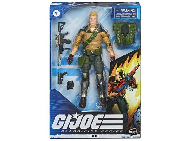 *PRE-SALE* G.I. Joe Classified Series Duke Action Figure
