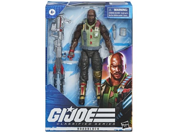 G.I. Joe Classified Series Roadblock Action Figure