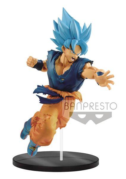Dragon Ball Super: Broly Ultimate Soldiers (The Movie) Vol. 2 Super Saiyan Blue Goku Figure