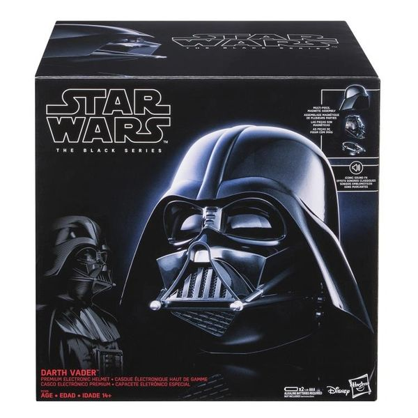 Star Wars: The Black Series Darth Vader 1:1 Scale Wearable Electronic Helmet