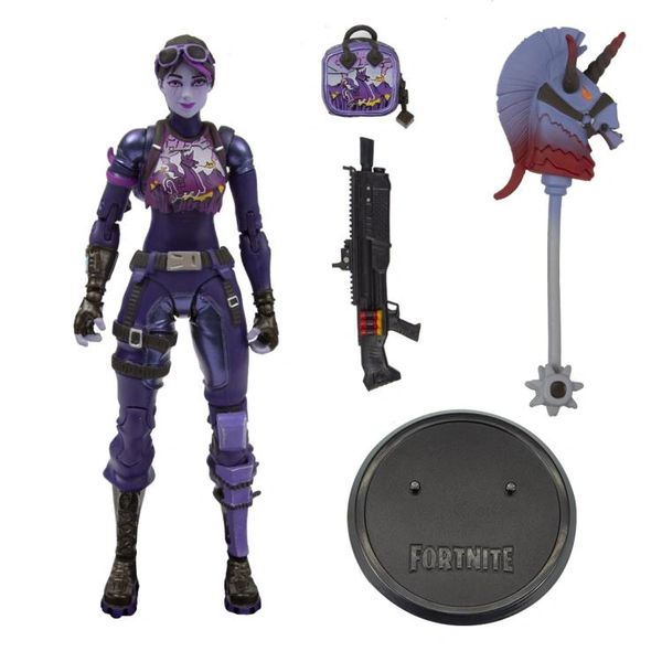 "McFarlane Toys Fortnite Premium 7"" Inch Action Figure Dark Bomber"