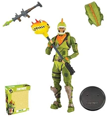 "McFarlane Toys Fortnite Premium 7"" Inch Action Figure Rex"